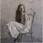 A Woman in White