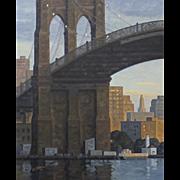 Brooklyn Bridge, Early Evening