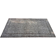 """Charcoal Overdyed Carpet 80 x 48"""""""