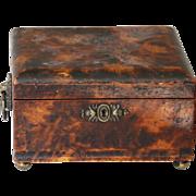Antique Regency Painted Document or Desk Box