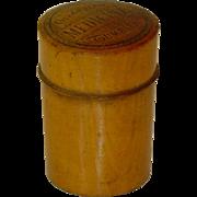 Antique Doctor Apothecary Treen Measure