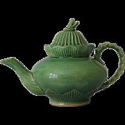 Majolica Pottery Teapot