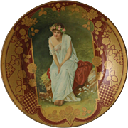 Victorian Lithographed Tin Plate
