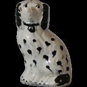Antique Staffordshire Miniature Spaniel