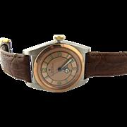 SALE Rolex 1944 Bubble Back Rose Gold Salmon Dial Watch