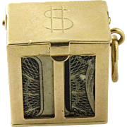 14K Yellow Gold U.S. $1 Mad Money Charm