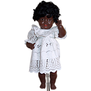 "Black doll Kammer & Reinhardt Germany 16"" Celluloid marked on head and body"