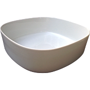 "Block Langenthal Transitions White Vegetable Dish Salad Bowl 7-3/4"" Across"