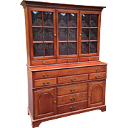 Pennsylvania House Mid Century Solid Cherry China Cabinet