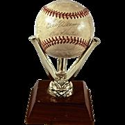 Rare 1974 Baltimore Orioles Teamed Signed Baseball.