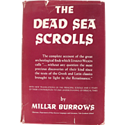 Book: The Dead Sea Scrolls by M. Burrows, Dated 1957