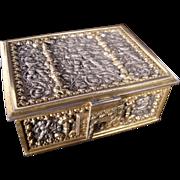 Antique Two Tone Erhard & Sohne Repousse Box