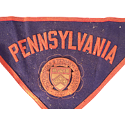 Remarkable Vintage 1940 University of Pennsylvania Bicentennial Memorabilia Collection