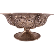 Amazing pierced Sterling Silver Nut or Candy Dish by Frank Whiting & Co.