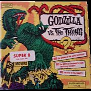 SOLD Vintage 8MM Monster Movie - Godzilla vs. The Thing - Ken Films