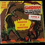 SOLD Vintage 8MM Monster Movie - Ghidrah The Three Headed Monster - Ken Films