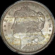 1921 Morgan Silver Dollar - 94 year old Coin - Philadelphia Mint