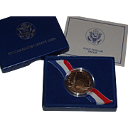 SOLD 1986-S US Mint Liberty Proof Commemorative Half Dollar - Nice Proof Coin with COA and Box