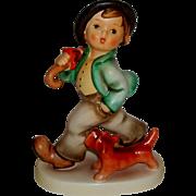 "SALE Vintage M.I. Hummel ""Strolling Along"" Figurine ~ HUM5 ~ TMK6 CE ~ CV ..."