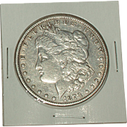 SOLD 1878 Morgan Silver Dollar - 137 year old Coin - Philadelphia Mint
