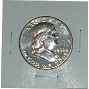 1962 Franklin Proof Silver Half Dollar - Philadelphia Mint