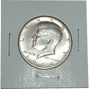 1964-D Kennedy Silver Half Dollar - 90% Silver - Very Nice Coin - Denver Mint