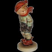 "SALE Vintage M.I. Hummel ""March Winds"" Figurine ~ HUM43 CE ~ TMK2 ~ CV ..."