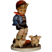 "SOLD **Holiday Sale Price** M.I. Hummel ""Farm Boy"" Figurine ~ HUM66 ~ TMK3 - Red Tag"