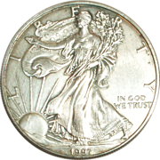 SOLD 1997 American Eagle Silver Dollar ~ Free Shipping