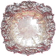 Whiting / Gorham Repousse Carnation Bowl, Sterling Silver, Art Nouveau
