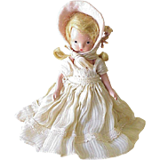 Vintage Nancy Ann Storybook Doll circa 1940's Bisque