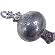 Vintage Sterling Silver Charm ~ Money Pouch