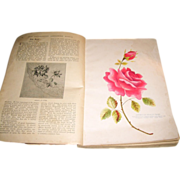 SOLD RESERVED for Helen 282 pages Edwardian circa 1900 Good Housekeeping Needlework Manual emb
