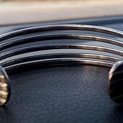 SALE Vintage Cluster Earrings Aurora borealis beads  Clip Style