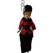 """***An antique """"LADY"""" doll house doll, approx 1900-1920***"""