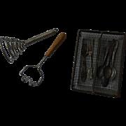 ***Antique miniature utensils for your antique Kitchen****