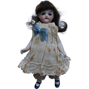 REDUCED ***Antique all bisque mignonette doll*** 4,2 inches.