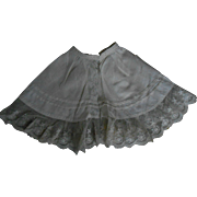 **Authentic antique French half slip for your Fashion Lady Doll****
