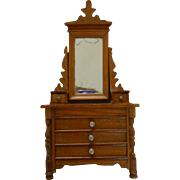 REDUCED antique miniature dressing table Schneegas, around 1900.