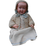 SOLD **very rare MYSTERY baby doll, open-close mouth***