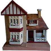 REDUCED **A sweet  antique ENGLISH COTTAGE***Small size !!! Made by M.Kohnstam GERMANY.