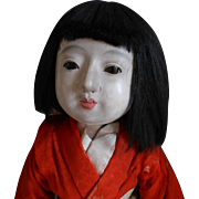 ***An early ICHIMATSU Japanese doll***** 21,5 inches.