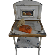 ****An antique tiny miniature toilet wash stand for your doll house****