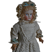 ***Cabinet size C.F Kling, closed mouth doll****11,6 inches. approx 1880