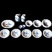 Original Onion Pattern China 1900 - 1910 small size