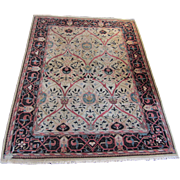 REDUCED 9 x 11.9' Vintage Handwoven Oriental Area Rug