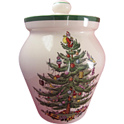 SALE Spode Christmas Tree Large Cookie Jar