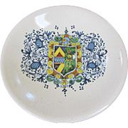 Large Italian Faience Bowl -13.75""