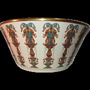 "REDUCED 10.5"" Lenox Lido Bowl- 24k Gold Trim"