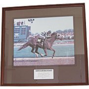 SALE Secretariat Winning the Kentucky Derby-1973